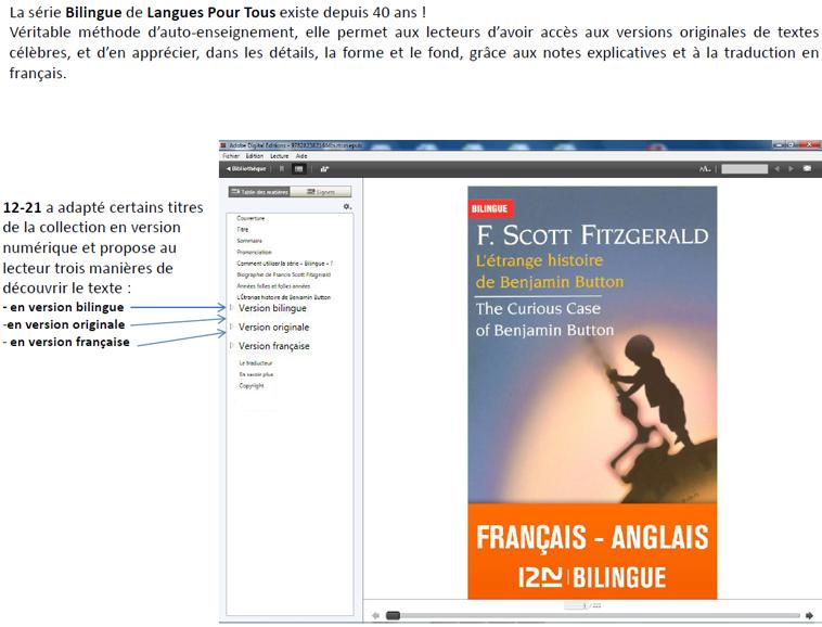 actualite du virtuel bilingue francais anglais